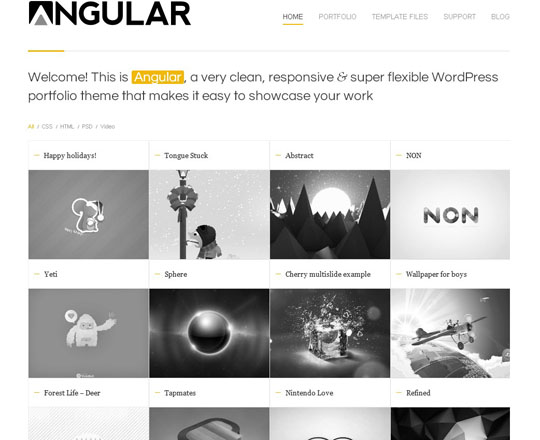 44.best portfolio wordpress themes