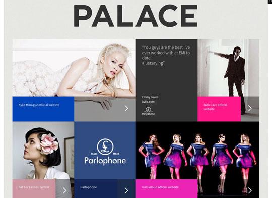 flat websites