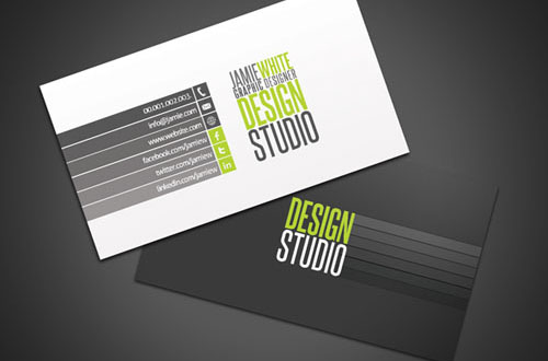 Free Business Card Templates Pixelbell - Professional business card templates