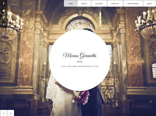 11.wordpress wedding themes
