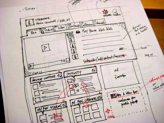 12.website sketches