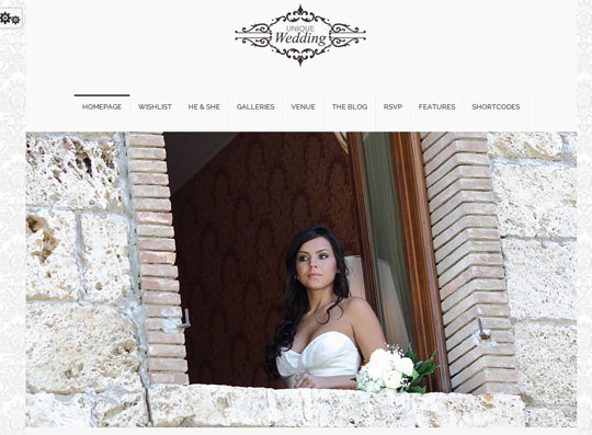 14.wordpress wedding themes
