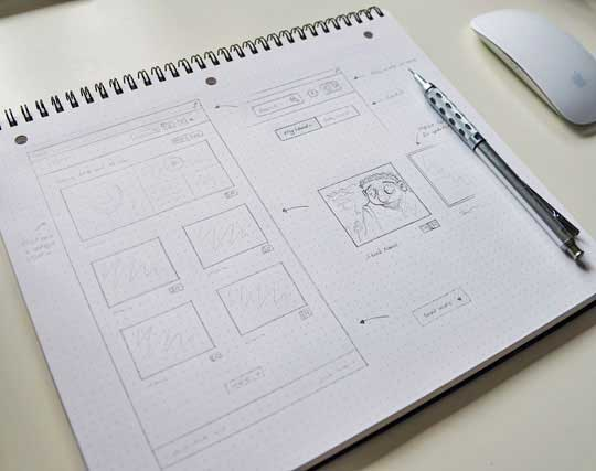2.website sketches