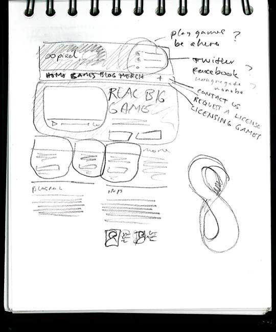 3.website sketches