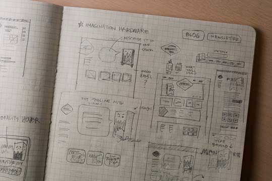 4.website sketches
