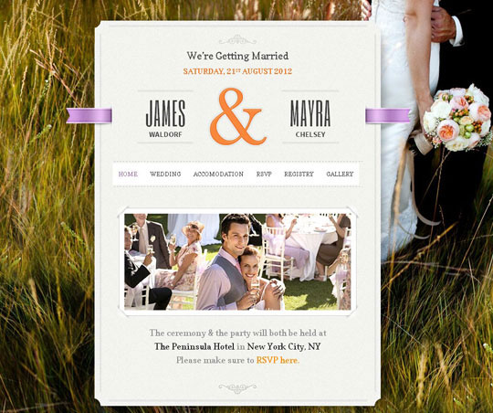 8.wordpress wedding themes