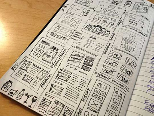 9.website sketches