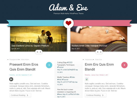 9.wordpress wedding themes