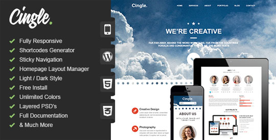 best minimal wordpress themes