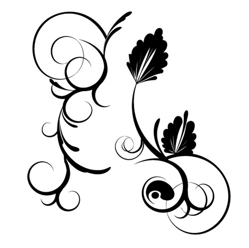 11.floral-and-swirl-vectors