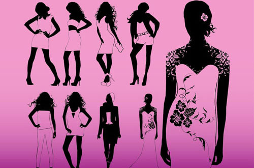 12.free-fashion-vector