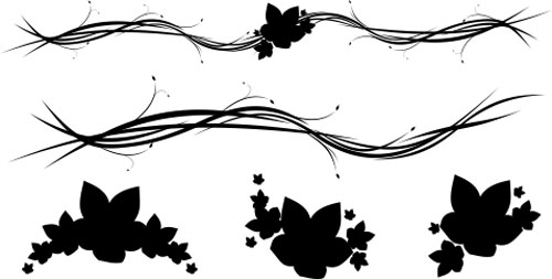 13.floral-and-swirl-vectors