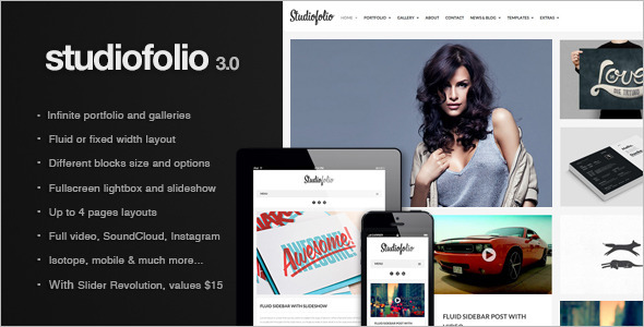 13.gallery wordpress theme