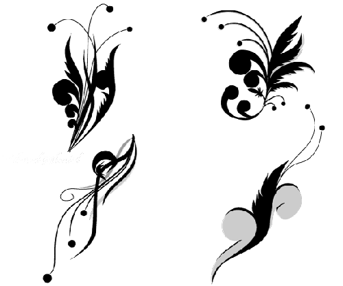 24.floral-and-swirl-vectors