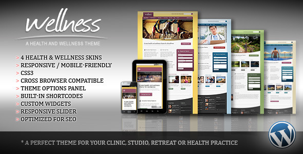 25.health and medical wordpress themes