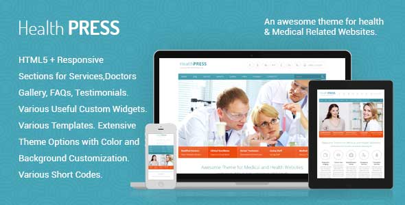 27.health and medical wordpress themes