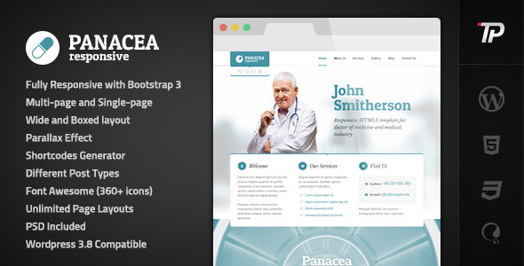 4.health and medical wordpress themes