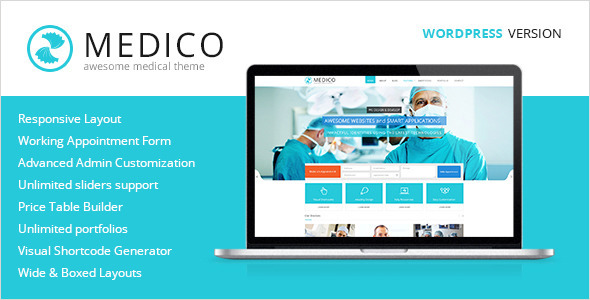 9.health and medical wordpress themes