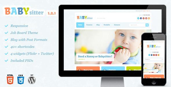 baby and kids wordpress theme