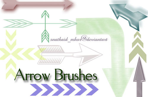 10.arrow-brushes