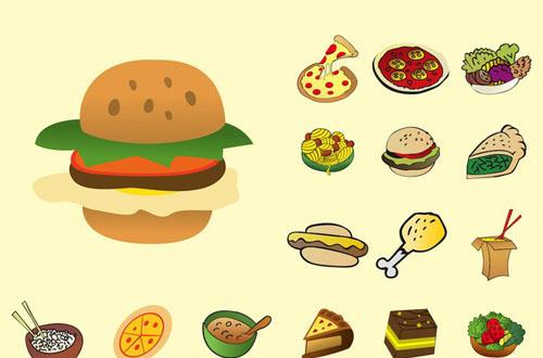 10.food-vector