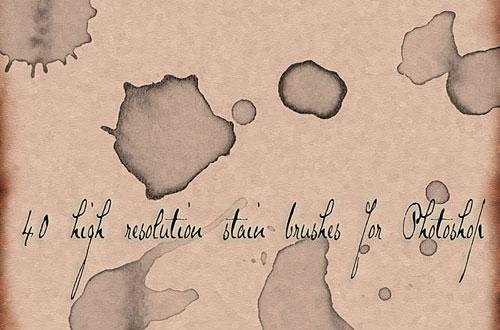 11.photoshop-stain-brushes