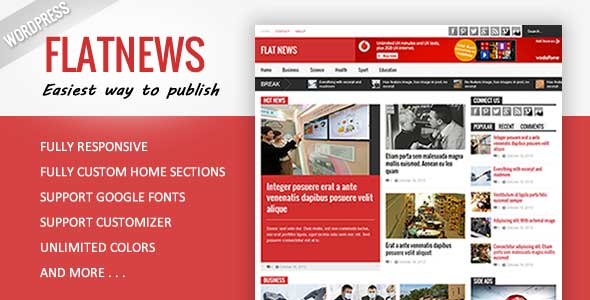 12.Wordpress news themes