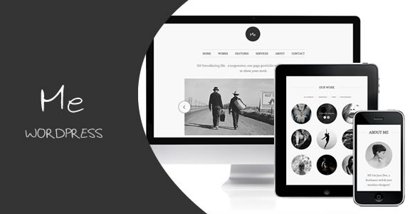 12.one page wordpress theme