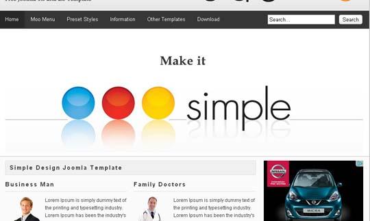 14.free joomla template