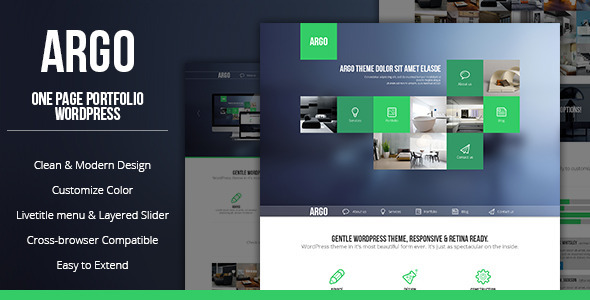 14.one page wordpress theme