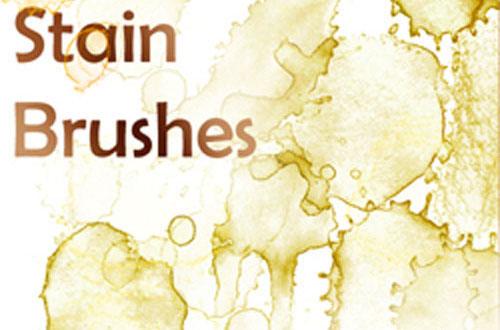 14.photoshop-stain-brushes