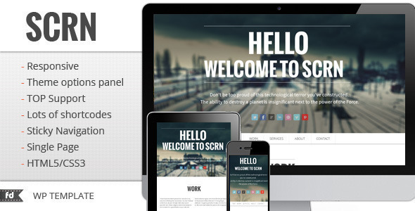 15.one page wordpress theme