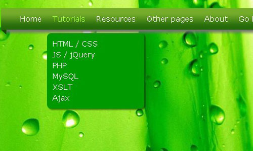 18.css3-html5-dropdown-menu