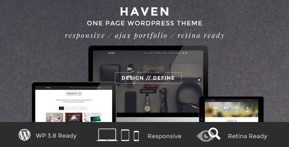 18.one page wordpress theme