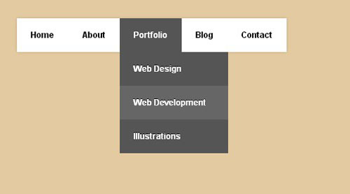 19.css3-html5-dropdown-menu