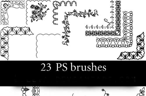 19.photoshop-corner-brushes