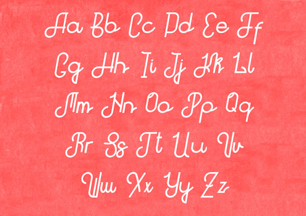 2.Free Font Of The Week  Hitchhiker