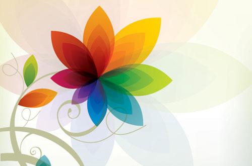 2.flower-vector1