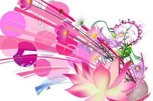 20.flower-vector1