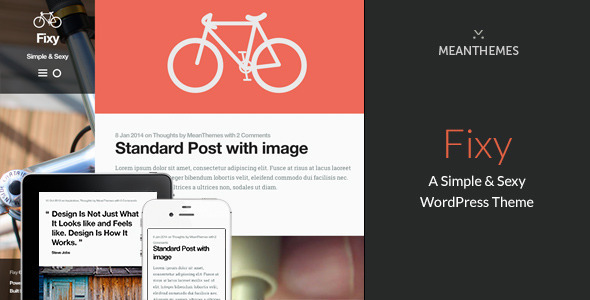 20.wordpress blogging theme