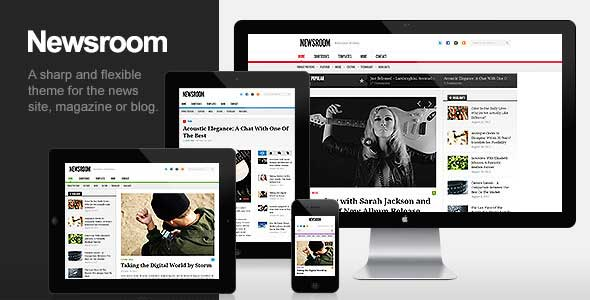 24.Wordpress news themes
