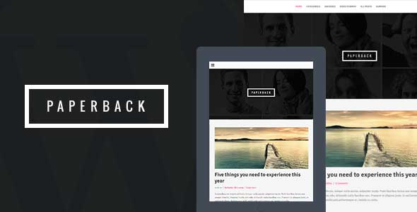 24.wordpress blogging theme