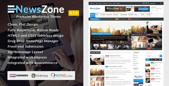 26.Wordpress news themes