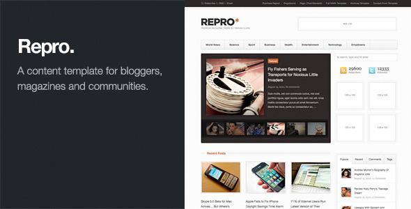 27.Wordpress news themes