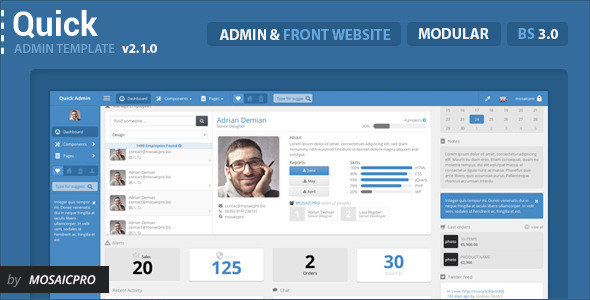 27.admin dashboard template
