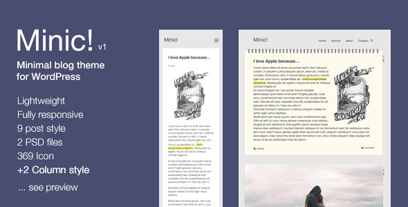 27.wordpress blogging theme
