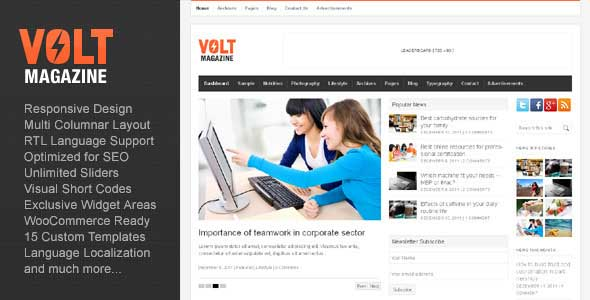29.Wordpress news themes