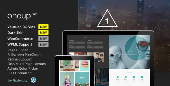 29.one page wordpress theme