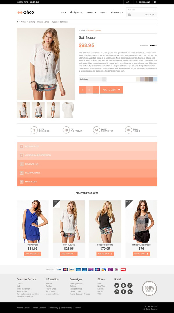 3.Free Responsive PSD Template