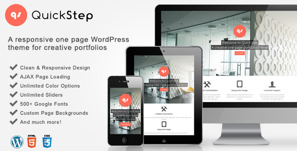 30.one page wordpress theme